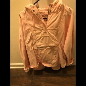 American eagle pink jacket